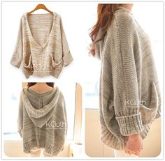 KCLOTH Khaki Sweater K1325 Casual Sweater Cardigan Long Sleeves knit wear outerwear plus size jumper tops on Etsy, $26.99