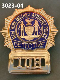 Her badge. One thing they can't take away