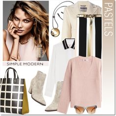 Pastels by drn57 on Polyvore featuring polyvore, fashion, style, Helmut Lang, rag & bone, Sportmax, Steve Madden, Marni, Dolce&Gabbana and Dorothy Perkins