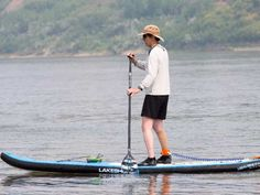 Get up, stand up on that paddleboard