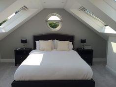 grey loft room - Google Search