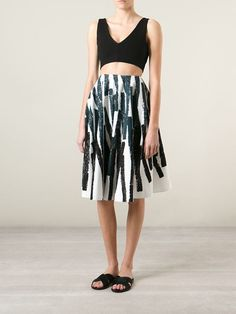Marni Striped Skirt - Luisa World - Farfetch.com