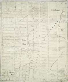1831  Map showing the old farms : from 4th to 28th Street, east of 6th Avenue, New York