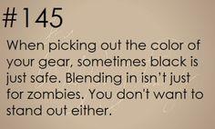 Zombie Apocalypse Survival Tip #145