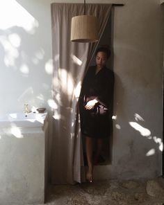 Dappled light and a still moment in a kitchen Wabi Sabi, Casa Wabi, Dappled Light, Spring Fashion Casual, Classy Casual, Morning Light, Light And Shadow, Simple Dresses, Portrait Photography