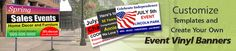 Get All Types Of Event Banners @ lowest Price of $0.99/SF with FREE Shipping With 100% Quality Guarantee from BannerBuzz