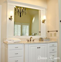 Whew!   I can finally show you pictures of the Master Bath Remodel that I recently finished for my clients (and friends). I went looking...