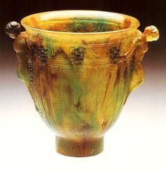 Vase, 1923.François Emile Décorchemont. pâte de verre