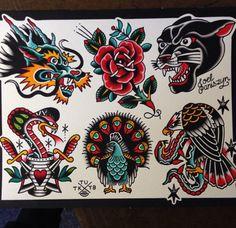Filipino tattoos – Tattoos And Flash Art Tattoos, Tattoo Flash Sheet, Traditional Snake Tattoo, Traditional Tattoo Old School, Traditional Tattoo Design, Traditional Tattoo Inspiration, American Style Tattoo, American Tattoos, Tatuagem Old Scholl
