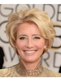 Short Curly Haircut for Women Over 50: Lively Curls in ...