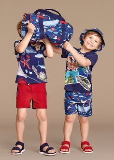 Dolce & Gabbana Children Boy Collection Summer 2016 | Dolce & Gabbana