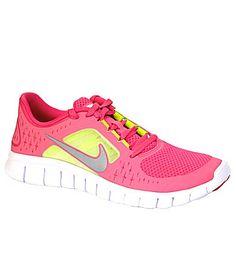 lacy really wants Nike Girls Nike Free Run 3 Running Shoes | Dillards.com