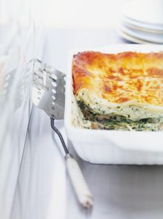 Ricardo's recipe: Blue Cheese Lasagna