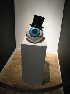 Original eyeball mask from The Residents music video.