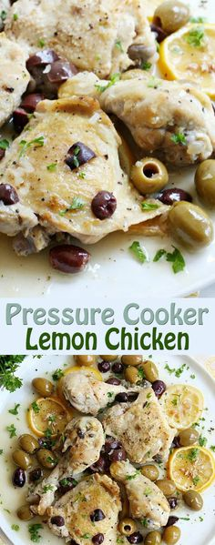 Pressure Cooker Lemon Chicken