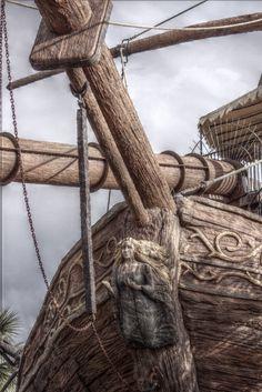 Pirate Ship Visit TheMysticSmuggler on Etsy! Pirate Art, Pirate Life, Pirate Ships, Golden Age Of Piracy, Ship Figurehead, Bateau Pirate, Sea Captain, Seafarer, Shipwreck