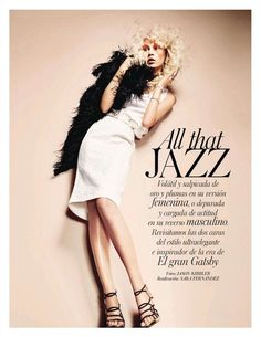 All that JAZZ | Aline Weber | Jason Kibbler #photography | Vogue Spain July 2012
