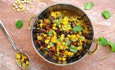 Savory Vegan Three Bean Dal