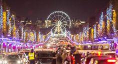Champs Elysees Avenue - Christmas