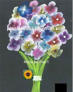 One Stroke Painting, Floral Wreath, Wreaths, Plants, Home Decor, Flowers, Decoration Home, Room Decor, Planters