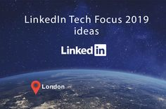 On Thursday, October LinkedIn's Tech Focus event took place in London, which included several conferences intended to help technology companies grow. In this article, I'll explain two ideas that came up, which I found extremely interesting. Linkedin Advertising, Advertising Agency, Web Research, London Places, Virtual Assistant, Lead Generation, Thursday, October, Branding