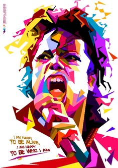 Art with Soul - Colors - Michael Jackson in WPAP by Edho by edhoartwork on DeviantArt Michael Jackson Painting, Michael Jackson Kunst, Michael Jackson Drawings, Portrait Illustration, Digital Illustration, Pop Art Artists, Pop Art Portraits, Pop Rock, The Jacksons