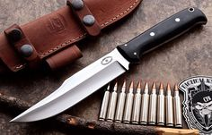 CFK USA Custom Handmade D2 Large Hunting Bushcraft Tactical Survival Gear Knife | Collectibles, Knives, Swords & Blades, Collectible Fixed Blade Knives | eBay!