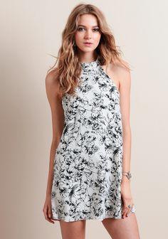 Speak Out Floral Dress at threadsence.com