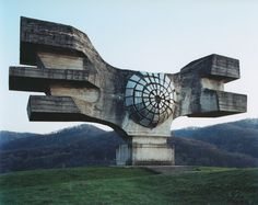 Strange Yugoslavian Architecture. I like it, but it has a sort of foreboding look to it...