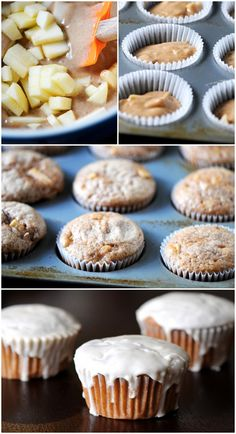Frosted Apple Pie Cupcakes #bettycrocker