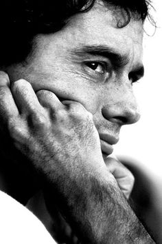 Ayrton Senna - passionate, handsome - an unbelievable talent, born with 'drive' and determination to win. Still such a loss.