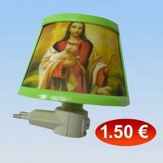 Λαμπάκι νυχτός με θρησκευτικές παραστάσεις 1,50 €