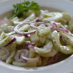 """Best-Ever Cucumber Dill Salad  """"Just experimenting one day and came up with a yummy, fresh twist on an old recipe."""""""