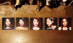 Yaocho Bar Group has launched Violent Coasters, a new series of traditional drink mats that feature portraits of typical Japanese women that reveal cuts and bruises on the subject's faces when an alcoholic drink is placed on top of them. The material used was printed with a thermochemical ink technology that reacts to form a change in color when a cold object comes into contact with it.