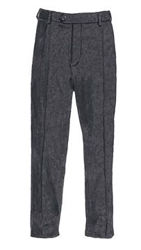 """A pretty common clothing trend was wearing these high-waisted gray flannel pants. They were known as """"grayers"""". Grey Flannel, 1920s, Pajama Pants, Pajamas, Gray, Trending Outfits, Pretty, Clothing, How To Wear"""