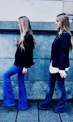 Denim I love you Looks Street Style, James Dean, Blue Jeans, Bell Bottom Jeans, Denim, My Style, Fashion, Moda, Fashion Styles