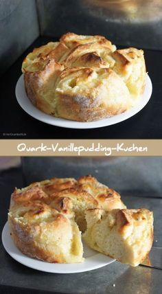 Herr Grün Quark-Vanillepudding-Kuchen ohne Gehzeit