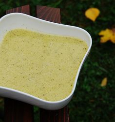 Суп из брокколи и пармезана