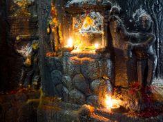 27 octobre 2012 Francis Traunig  -  Madurai  Tirupparakunram, Badrakali shrine