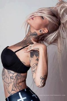 I'm in love with this chic. Sara fabel