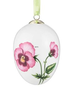 Easter egg with heartease, large, Royal Copenhagen Easter Egg 2015