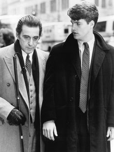 Al Pacino and Chris O'Donnell in Scent of a Woman (1992) - Click to expand