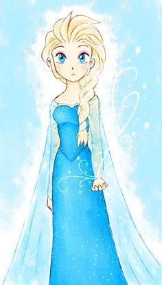Elsa 2 by Saphiin.deviantart.com on @DeviantArt