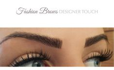 Designer Touch.net : Before And After Semi Permanent Eyebrows: Designed by Sha'tha www.facebook.com/DesignerTouchMakeUp