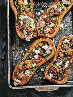 Baked Pumpkin with Tomato, Feta & Mint | Collective Hub | Collective Hub