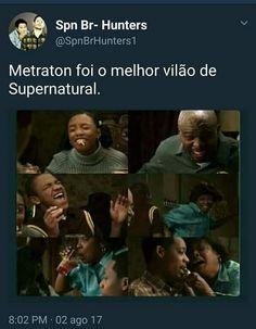 Supernatural Bunker, Supernatural Memes, Teen Wolf, Dean Winchester, Humor, Vampire Diaries, Funny Memes, Pasta, Bts