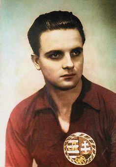 Ferenc Deak of Ujpesti Dozsa & Hungary in 1950s, Sports, World Football, Hungary, Brazil, The World, Soccer Players, Forget, Football Soccer