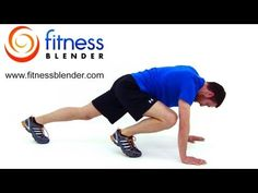 37 Minute Fitness Blender HIIT Pyramid Workout (burns 9-14 calories a minute!)