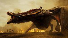 Drogon and Daenerys, ladies and gentlemen #gameofthrones #dracarys