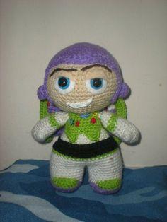 Buzz Lightyear amigurumi! Adorable!